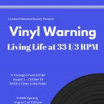 Vinyl Warning: Living Life at 33 1/3 RPM