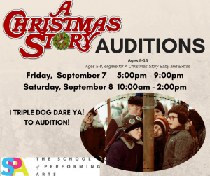 Auditions for A Christmas Story