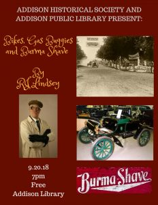 Bikes, Gas Buggies and Burma Shave