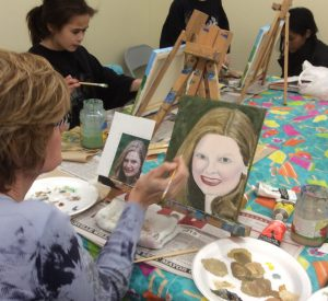 Naperville Art League Mixed Media Painting Class