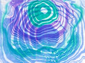 Suminagashi (ink marbling) workshop