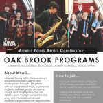 Midwest Young Artists Conservatory Chamber and Jazz Oak Brook Ensembles