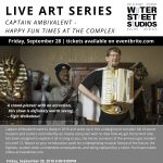 Water Street Studios Live Art Series Presents: