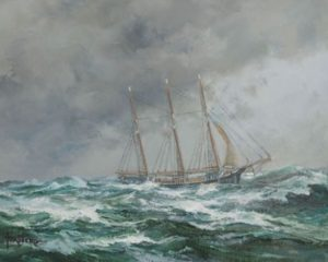 Nautical Oil Painting Demo