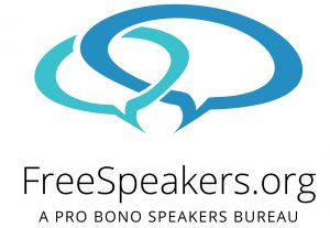 Free Speakers - A Pro Bono Speakers Bureau
