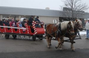 Sleigh Rides, Ice Sculptures, & Santa