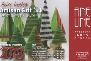 Artisan Gift Sale - Fine Line Creative Arts Center