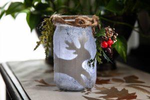 Adult Craft: Winter Votive