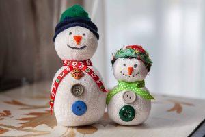 Family Craft: No-Sew Snowmen