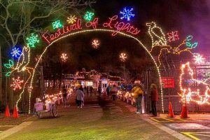 Festival of Lights at Cosley Zoo