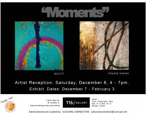 Opening Reception for Moments Exhibit
