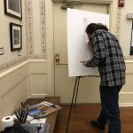 Open House featuring Albright-inspired artist Nick Gurley
