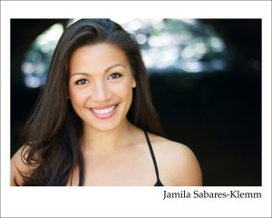 An evening with Jamila Sabares - Klemm (Hamilton's Eliza Hamilton)