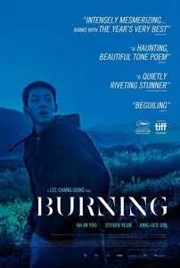 After Hours Film Society Presents Burning