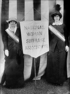 History Speaks: The Women's Suffrage Movement and the Good Roads Movement in Illinois