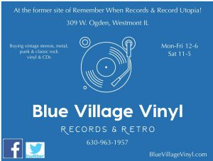 Blue Village Vinyl