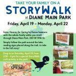 StoryWalk at Diane Main Park in Westmont