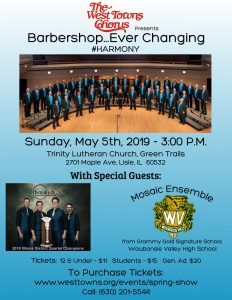 BARBERSHOP...EVER CHANGING - Our Annual Spring Sho...