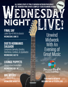 Wednesday Night Live! Lounge Puppets
