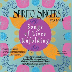 Spirito! Singers Spring Concert