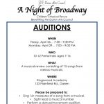 Auditions for Children's Musical Review