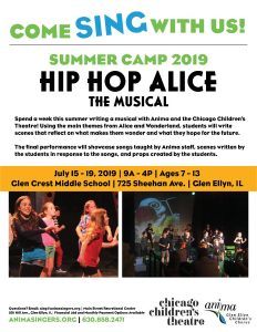 Summer Camp 2019: HIP HOP ALICE - The Musical
