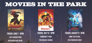 Movie in the Park- Spiderman- Into the Spiderverse...