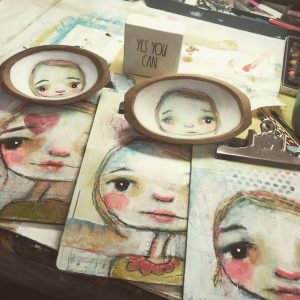 In Person Art Workshop | Whimsical Girl Vintage Cl...