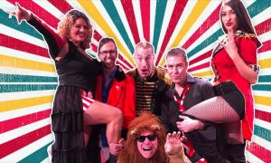 Concerts on the Commons: Libido Funk Circus—High...