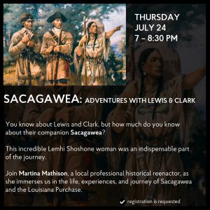 Sacagawea: Adventures with Lewis and Clark