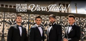 The Four Italian Tenors: Viva Italia!