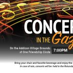 Tuesday, July 9, 2019--Felix Pham Trio in Concert at the Gazebo