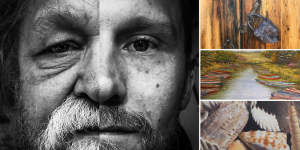 Opening reception for July's exhibitions at Water Street Studios