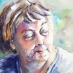 Patterns of Influence: Watercolors by Benita Brewer