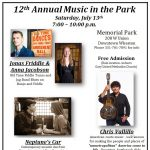 12th Annual Music in the Park