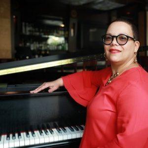 Carmen Stokes - solo jazz pianist plays EVERY Satu...