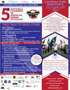 5th National Gathering of American Indian Veterans...