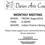 Darien Arts Council Monthly Meeting