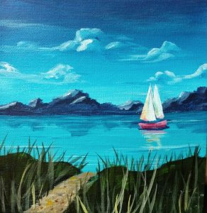 WATER SOLUBLE OIL PAINTING