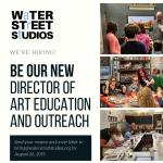 Water Street Studios Seeks New Director of Art Edu...