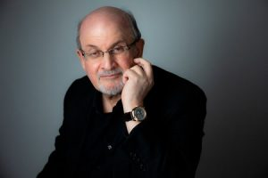 Author Salman Rushdie Shares Latest Book at Anders...
