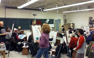 Open Life Drawing Session Every Thursday Evening