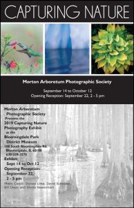 Capturing Nature Exhibit Reception
