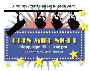 Open Mike Night at Two Way Street