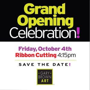 Grand Opening: Gary Brown Art