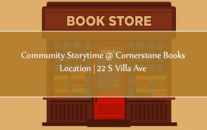 Community Storytime @ Cornerstone Books