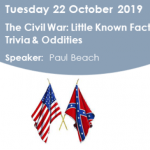 Free Lecture: The Civil War: Little Known Facts, Trivia & Oddities