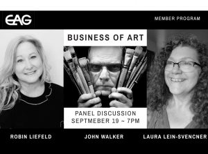 """Business of Art"" Panel Discussion"