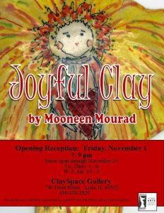Opening Reception: Mooneen Mourad's Joyful Clay