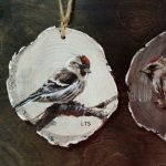 Hand-Painted Wood Ornaments